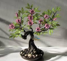 Resultado de imagen para bonsai artificial manualidades