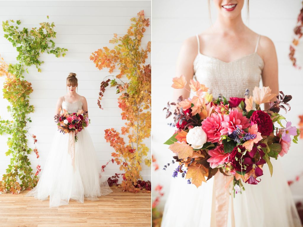 Stunning Fall Weddings Wedding Backdrop Ideas I Love Simple Elegance Flowers Are The Perfect Decoration For Brides Who Want A Beautiful Ceremony
