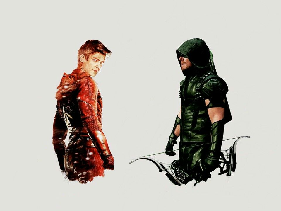 Barry Allen and Oliver Queen The Flash and The Arrow #CW | serie ...