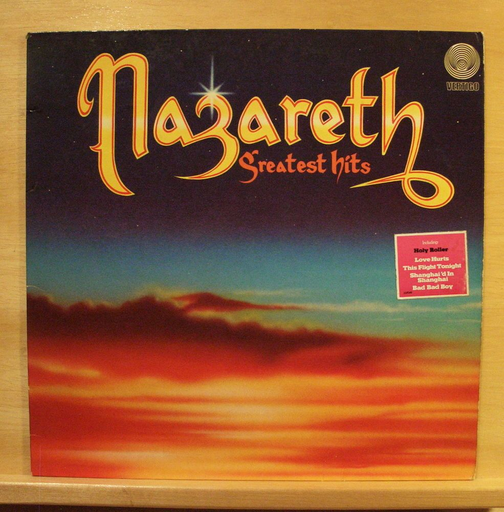 Nazareth Greatest Hits Vinyl Lp Love Hurts This