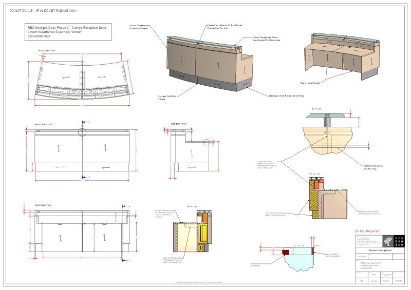 Furniture Construction Drawings Images Architectural