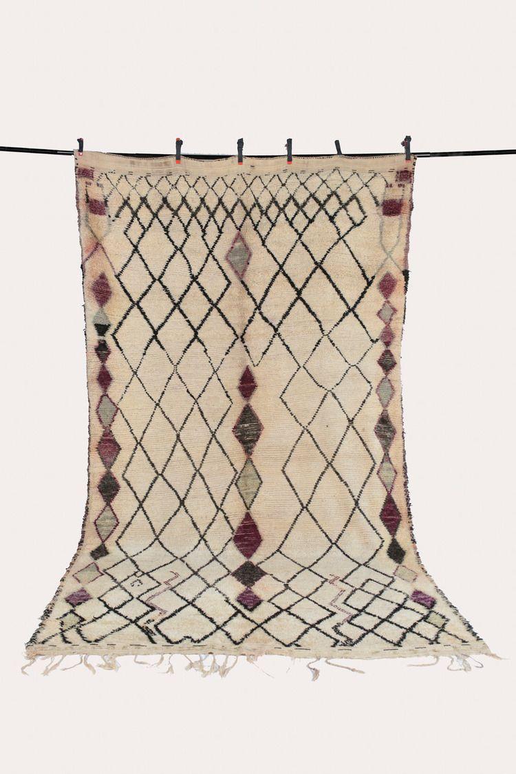 vintage Beni Ourain rug