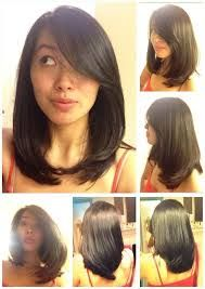 Image result for korean shoulder length hairstyles (With ...