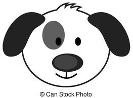 cute dog face clipart google search dog party pinterest rh pinterest com free dog face clipart bulldog face clipart