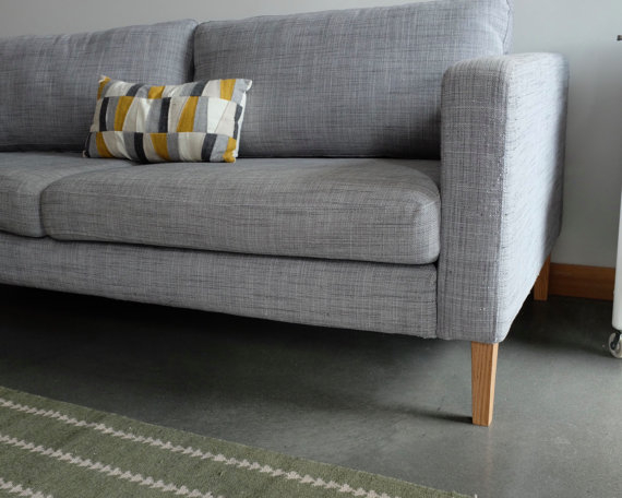 Tapered Ikea Karlstad Replacement Legs