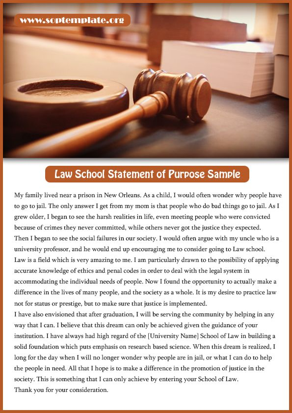 law school statement of purpose sample Statement of Purpose - best of 8 statement of purpose format