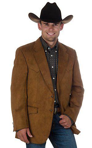 Harmony Western Wear Rust Microfiber Jacket Big Tall Sizes In 2020 Mens Western Jackets Mens Western Wear Western Wear