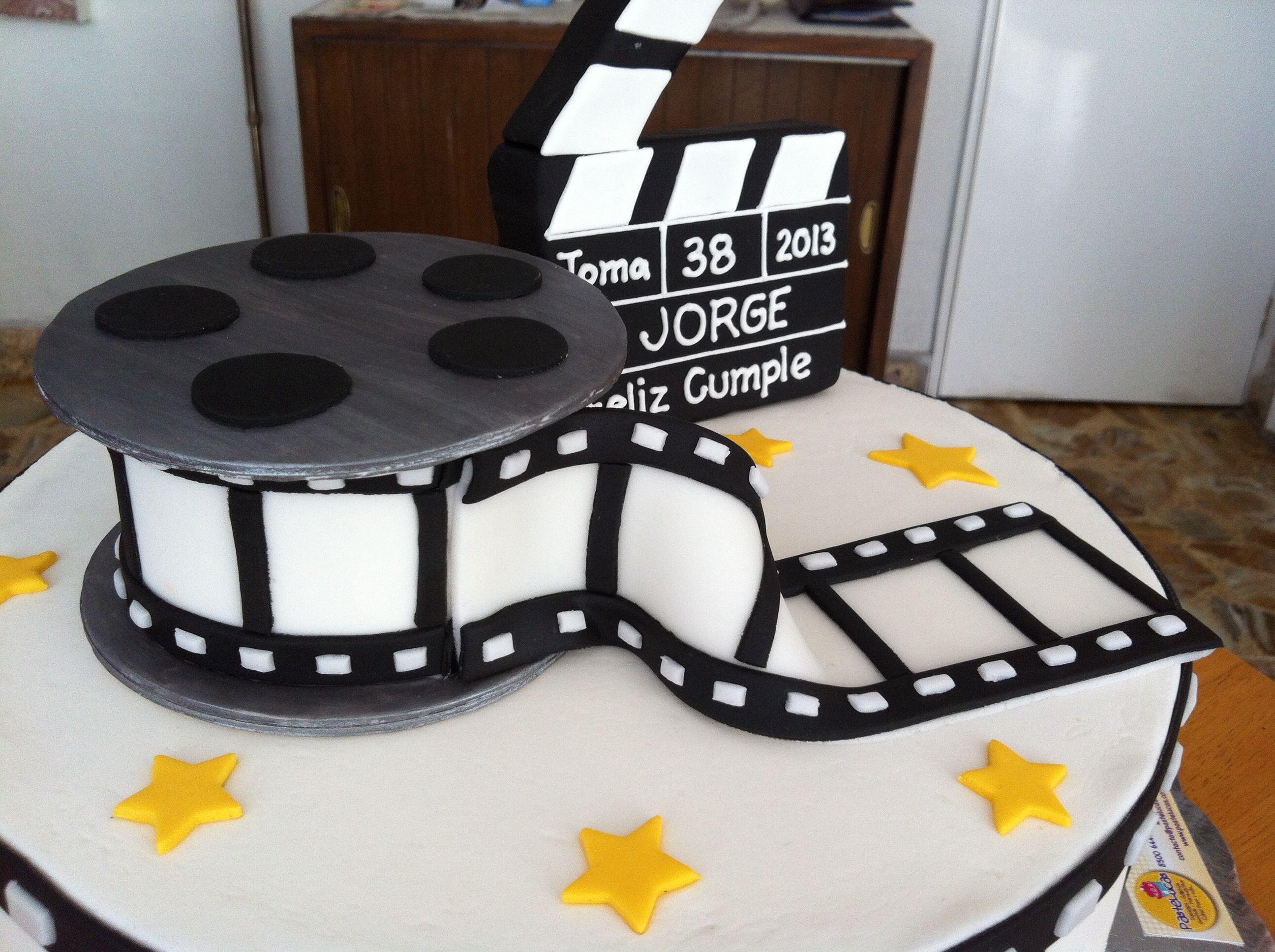 Cinema cake | CAKE CINEMA | Pinterest | Pastelería, Tartas y Tortilla