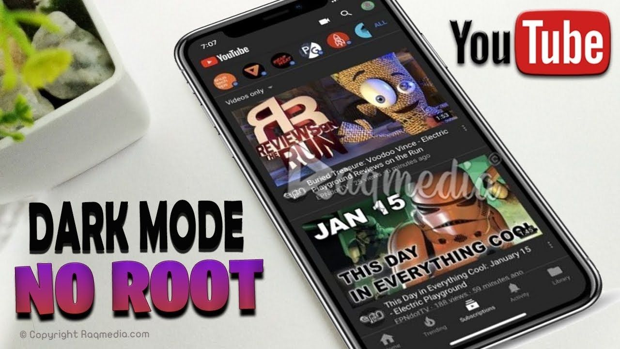 How To Enable Youtube Dark Mode On Android Or Iphone No Apps No