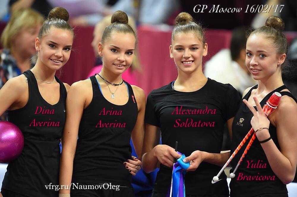 Dina & Arina AVERINA🇷🇺 ~ Alexandra SOLDATOVA🇷🇺 & Yulia BRAVICOVA