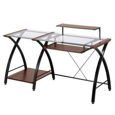 Z Line Designs Cherry Desk Zl4053 3dbu 이미지 포함 가구