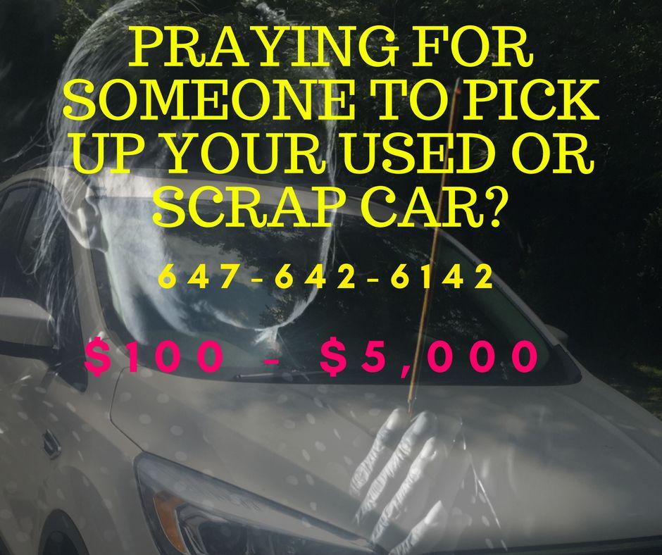 1005000 Scrap Cars Ontario Vaughan Scarborough