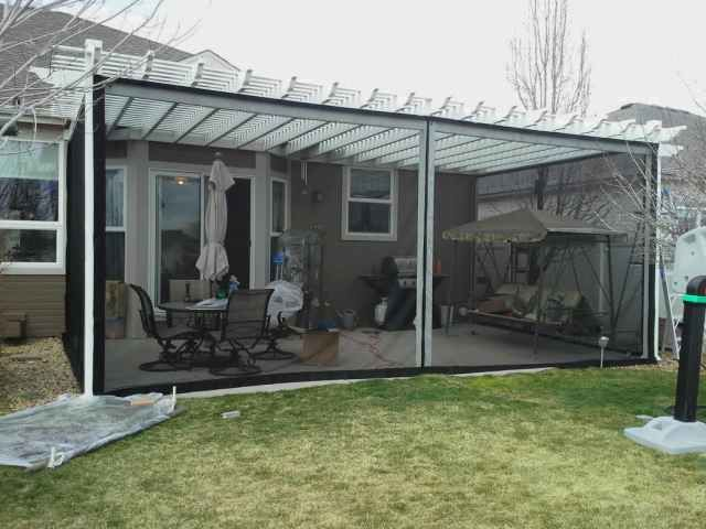 Patio Screening Examples