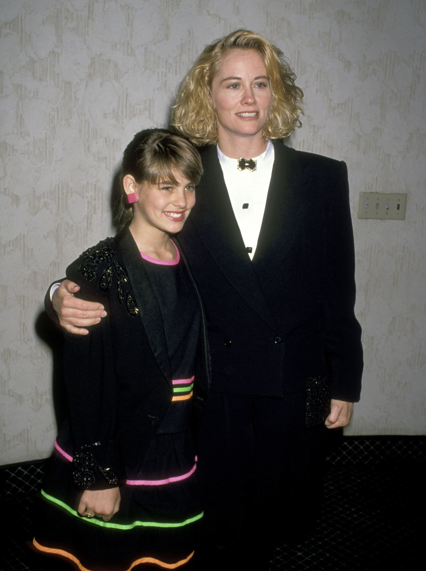 Clementine Ford With Her Momm Cybill Shepherd During