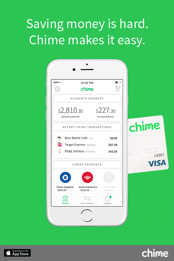 Image result for chime money ads Opening a bank account