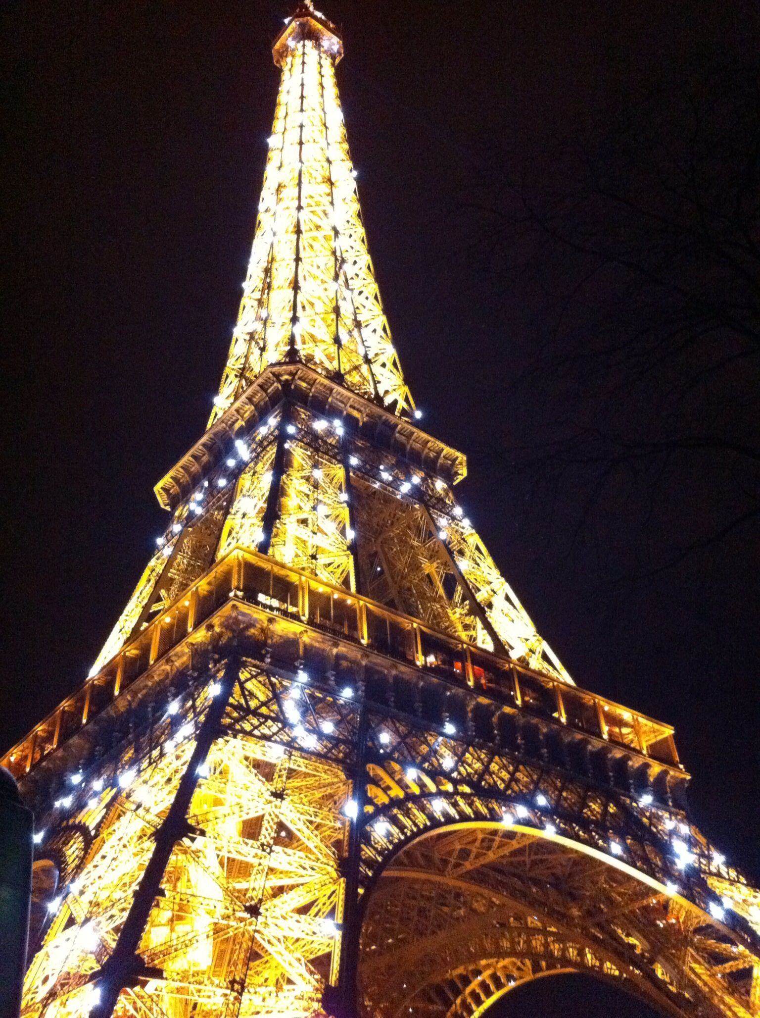 Paris - lit up at night
