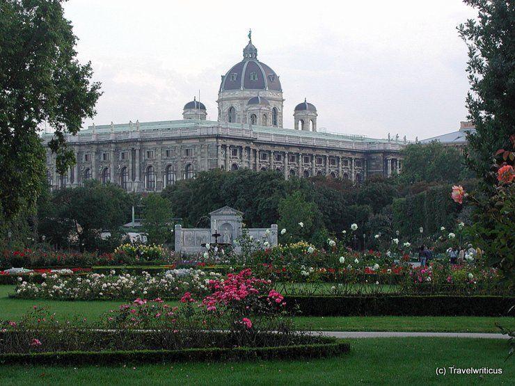 Volksgarten In Vienna Austria Vienna Wonders Of The World Austria