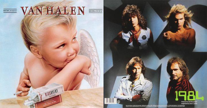 Van Halen S 1984 Van Halen Eddie Van Halen Halen