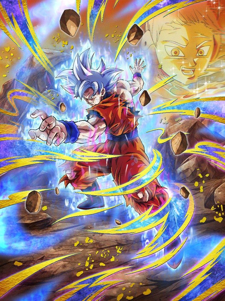 Goku Mui In 2021 Dragon Ball Art Dragon Ball Wallpapers Dragon Ball Super Wallpapers