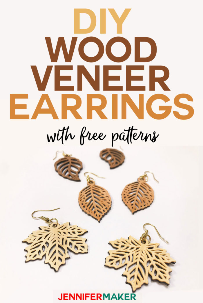 Photo of DIY Wood Veneer Earrings