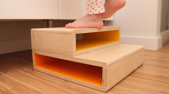 StepUp  A Modern Step Stool for Kids by SpringModern on Etsy, $75.00