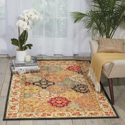 Calvin Klein Rugs Ancient Times Gold/Taupe Area Rug