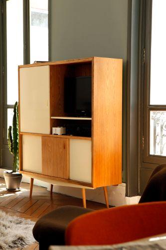 Meuble Design, Mobilier Annees50 Buffet, Buffet Vaisselier