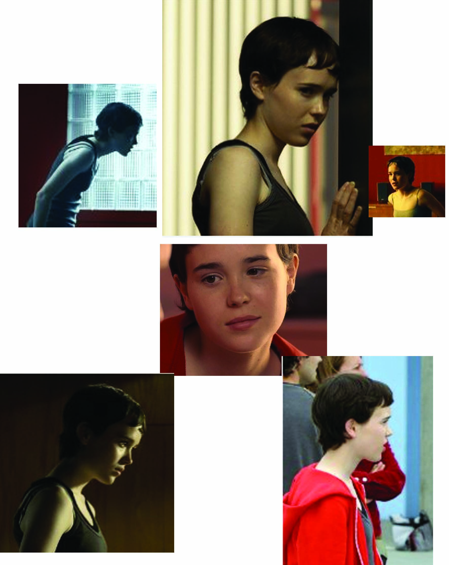 Short Hair Ellen Page Layered Haircuts With Bangs Wavy Layered Haircuts Haircuts With Bangs