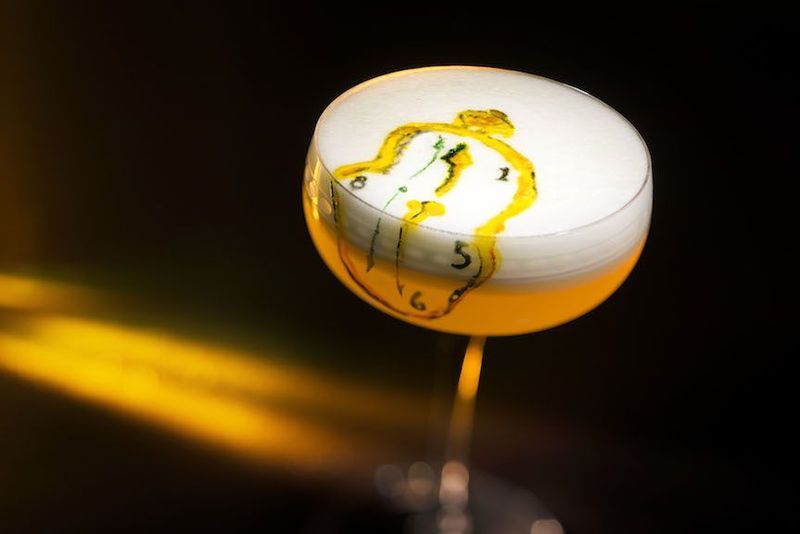 Behold Amazing Cocktail Art Inspired By Dali Mondrian And Van