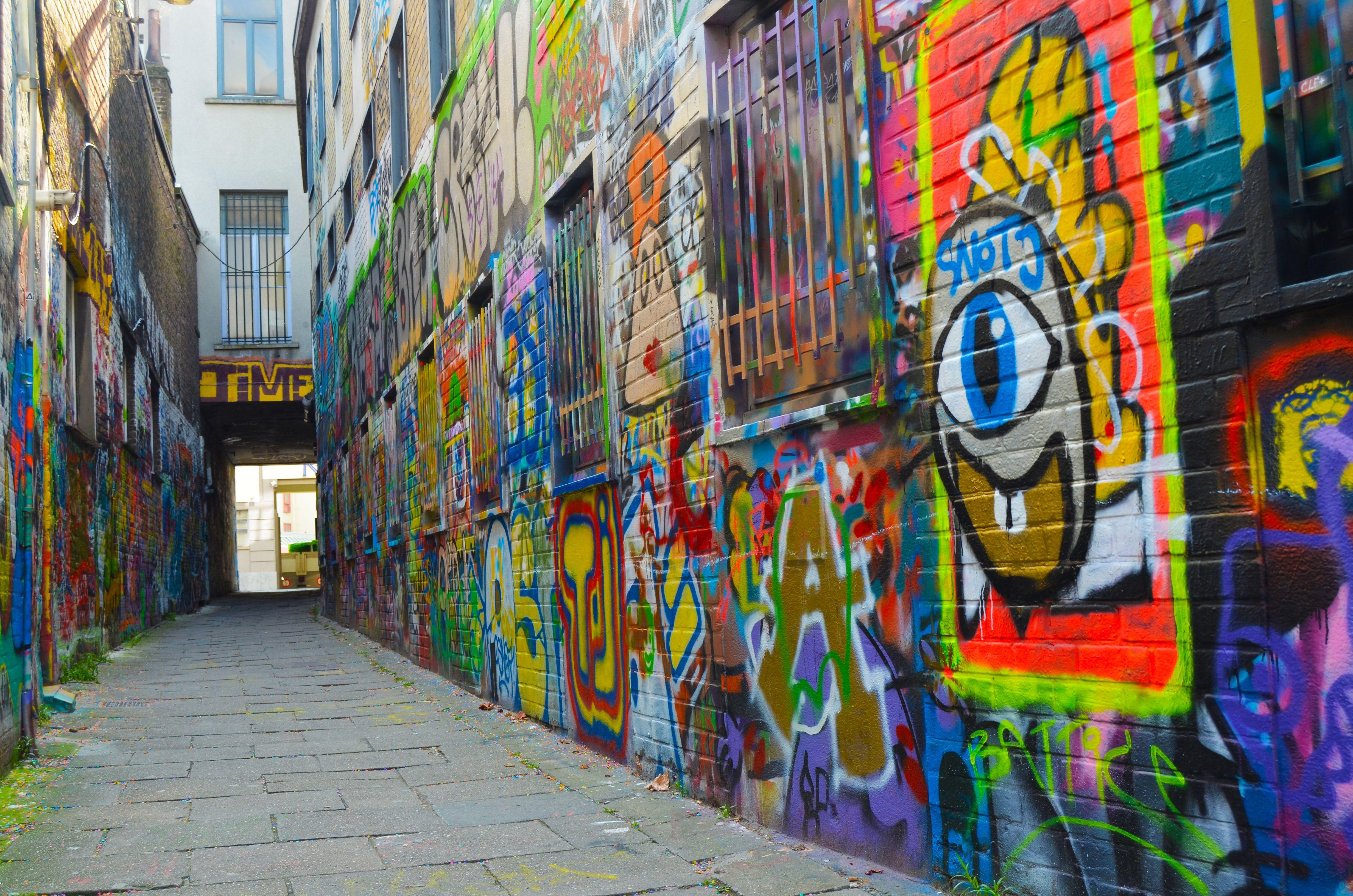 Werregarestraatje, el callejón de los Graffitis de Gante