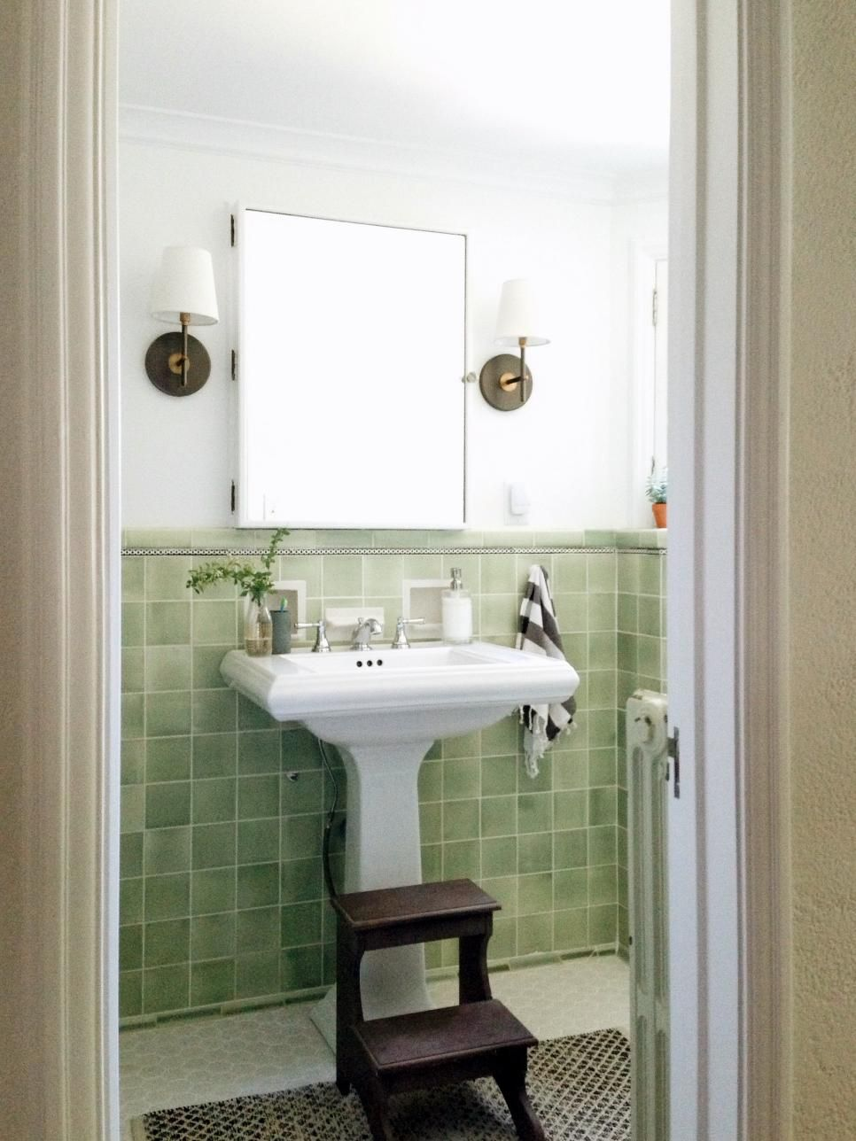 Small Bathroom Ideas On A Budget  Higher Design Hgtv And Budgeting Glamorous Updating A Small Bathroom On A Budget Review