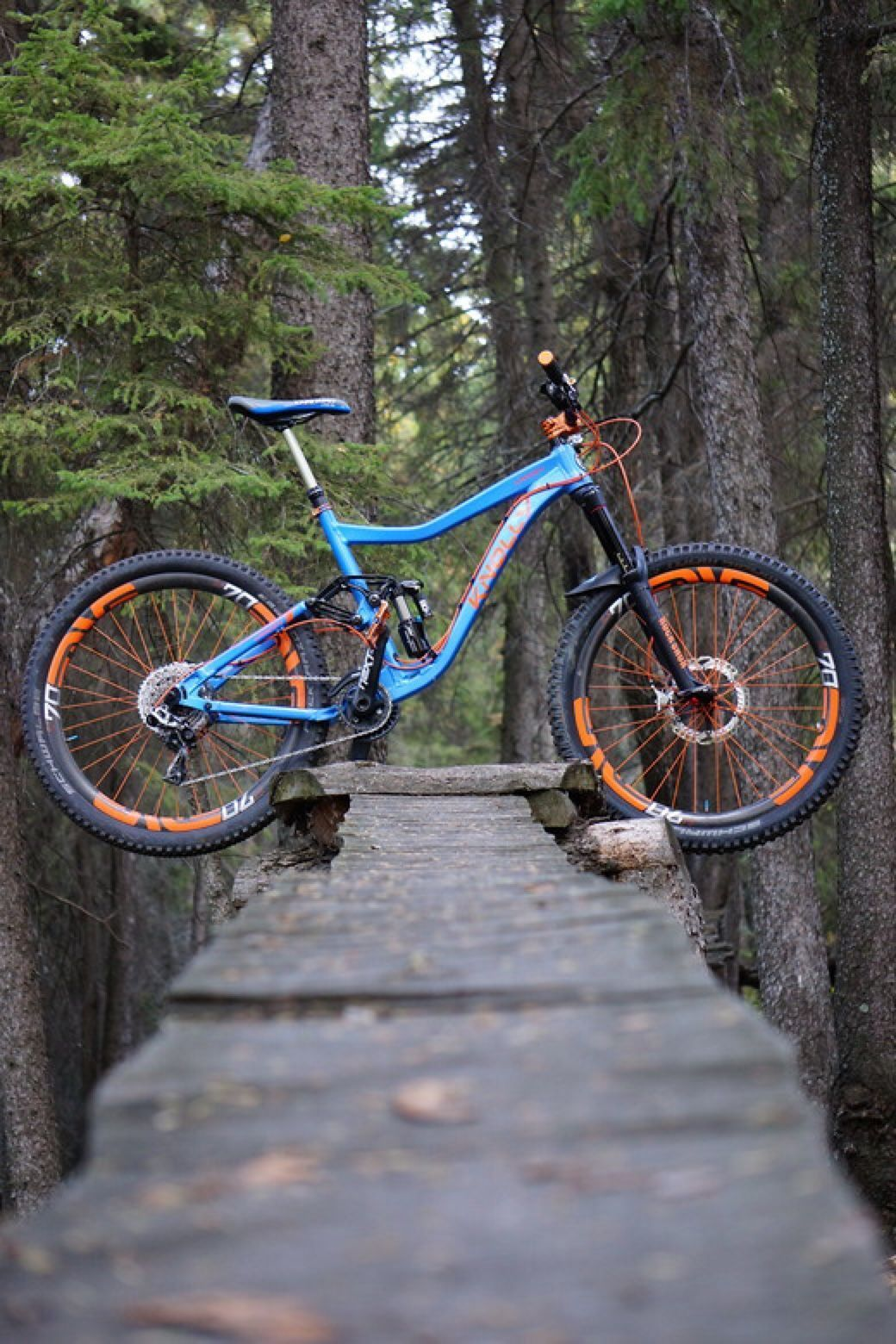 Knolly Warden Dream Build Mountain Biking Mtb Bike