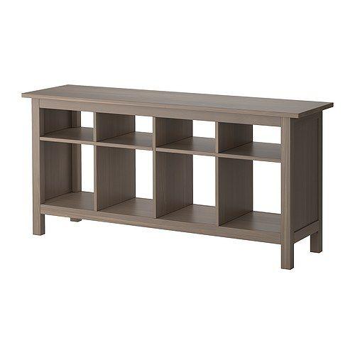 HEMNES Ablagetisch - graubraun - IKEA | Inspiration for the Home ...