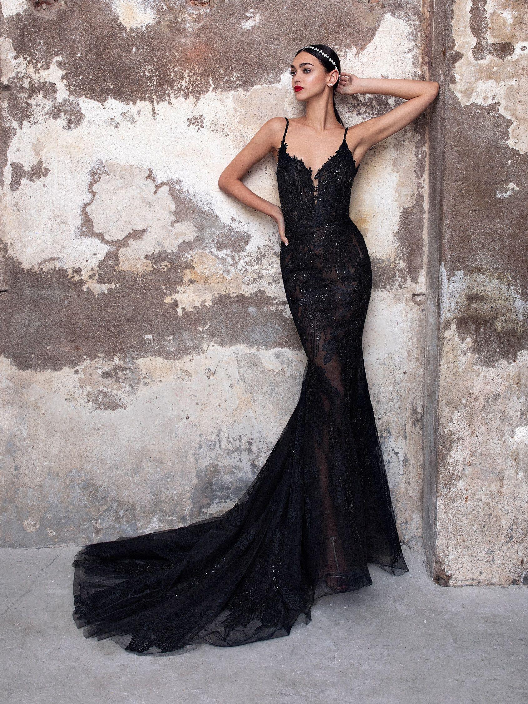 Obsidian Black Wedding Dresses Black Wedding Gowns Wedding Dress Couture [ 2255 x 1691 Pixel ]