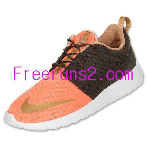 premium selection 1799a f6866 KD5Low.com full of Half off Nike Running Shoes,Nike Roshe Run FB Mens  Orange Brown 580573 371