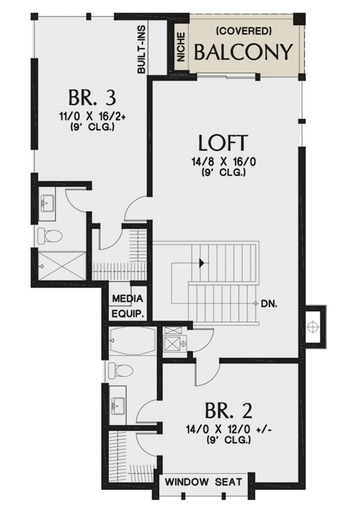 House Plan 2559 00836 Contemporary Plan 3 882 Square Feet 4 Bedrooms 4 Bathrooms Open Floor House Plans House Plans Best House Plans