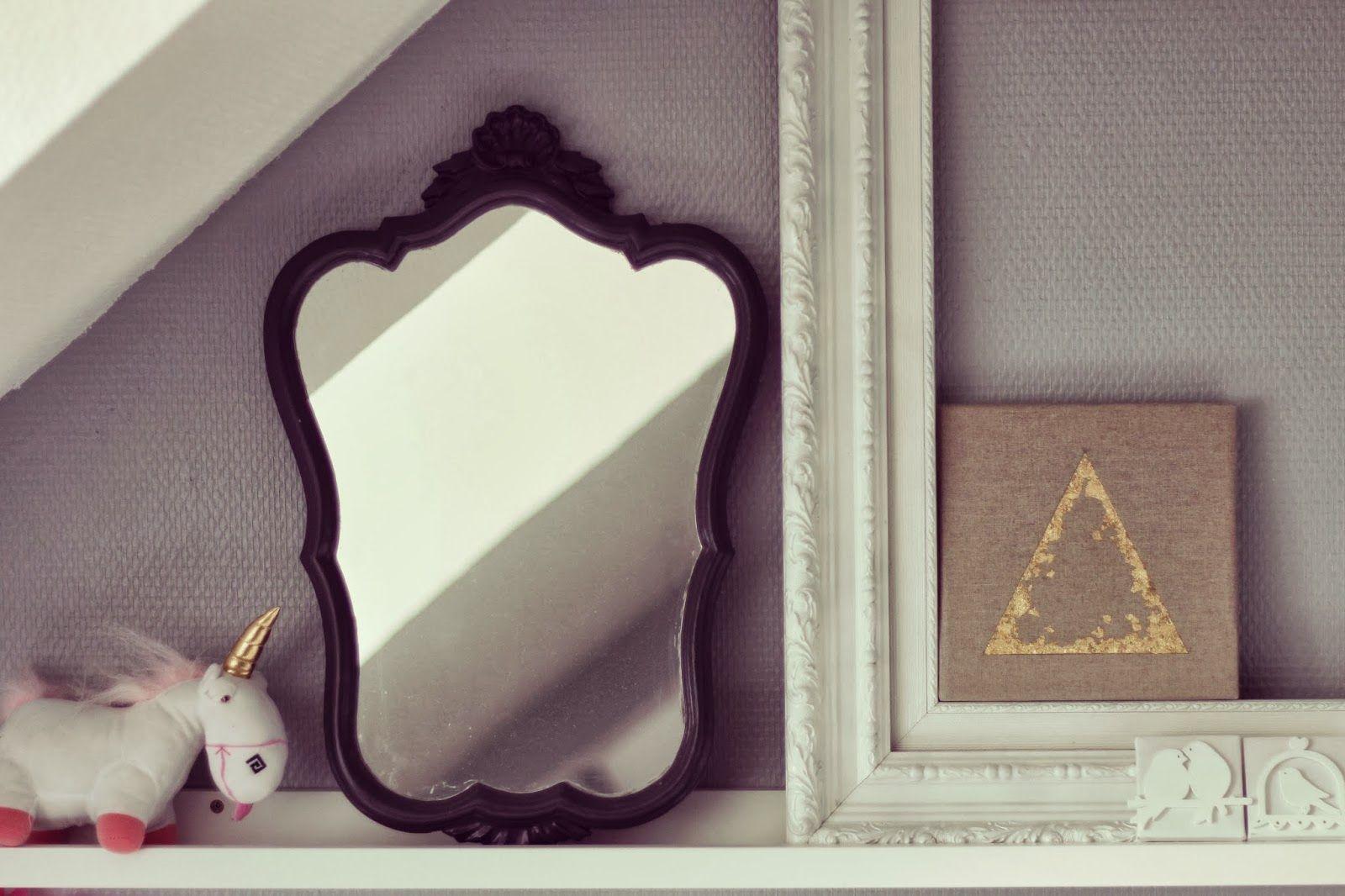 △ DIY - Une déco en Or : la géométrie bling-bling △