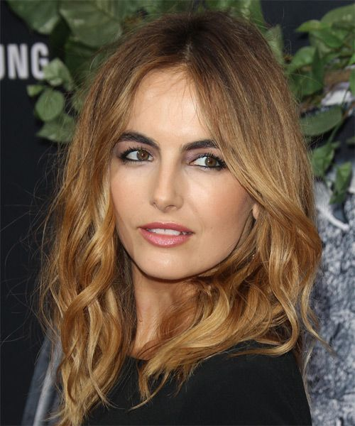 Camille Belle Long Wavy Casual Hairstyle Dark Golden Blonde Hair Color – #belle …