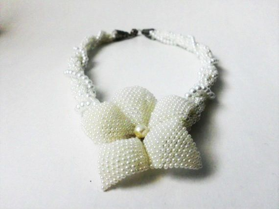 FREE SHİPPİNG Necklace/Wedding Necklace/Bridal by fancywomen, $50.00