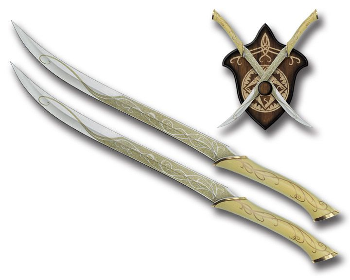 Elven Swords The Elfos Knives Of Legolas Only Use Them In Combat