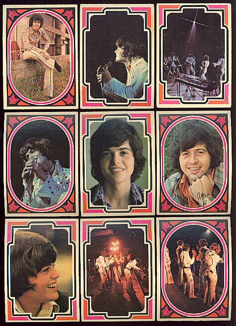 Osmond Bubblegum cards.Was my very first crush.Please check out my website thanks. www.photopix.co.nz