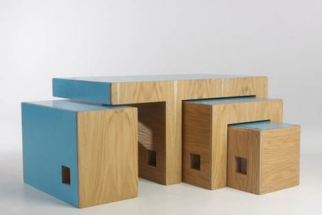"""Transformer Furniture Is A """"Cluster Of Multifunctional Modular Forms"""" : TreeHugger"""