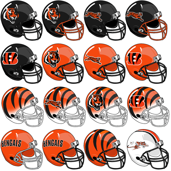 New Cincinnati Bengals Helmet History | Every 7th day is a who dey  supplier