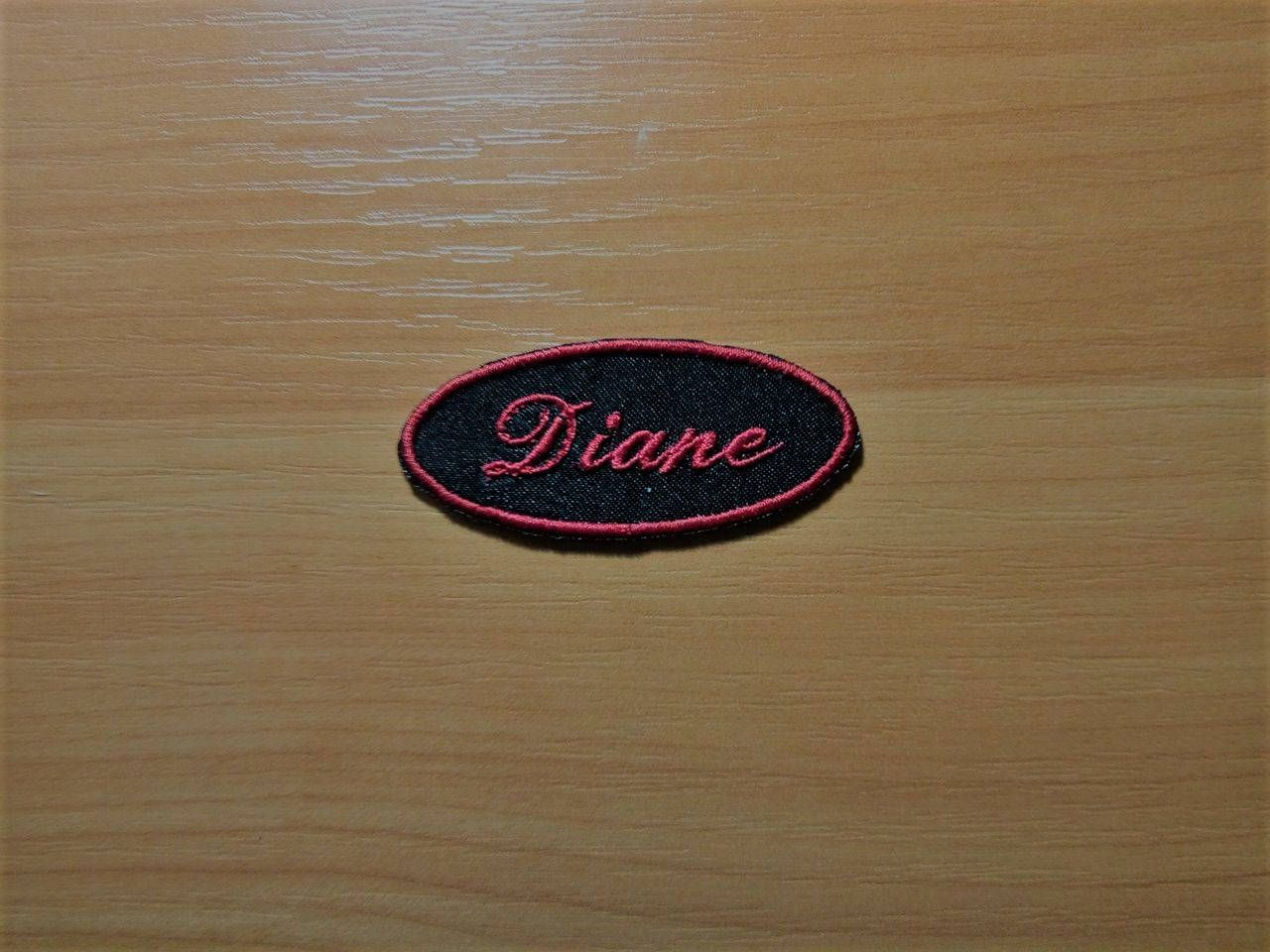 Custom Embroidered Name Patch, Iron on Name Patch, Name Tag, Sew on Name  Patch, Embroidered Name Tag