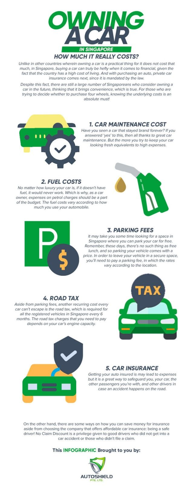 Owning a Car in Singapore How Much it Really Costs? Car