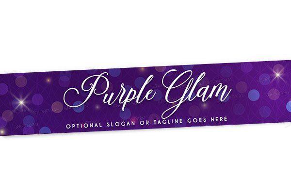 blog design website header banner header banner purple glam 1