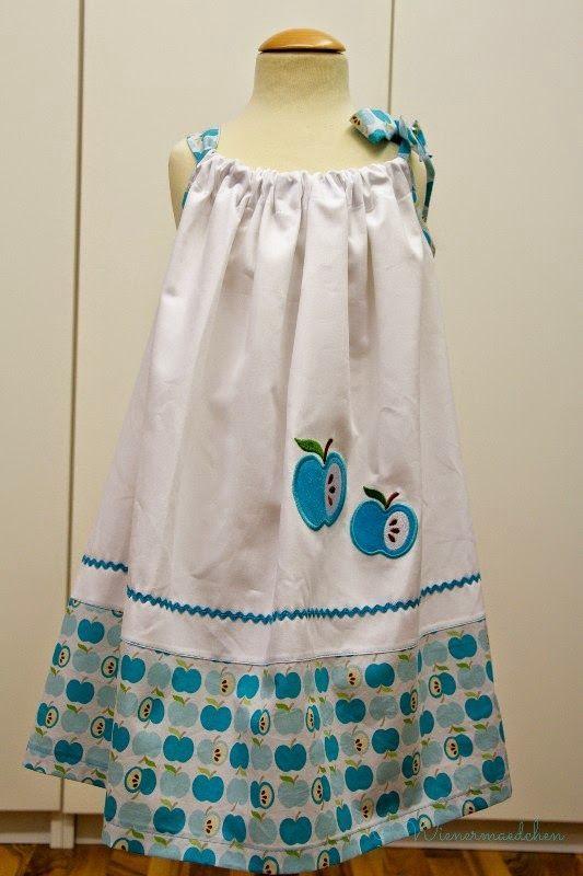 kleid mädchen freebook