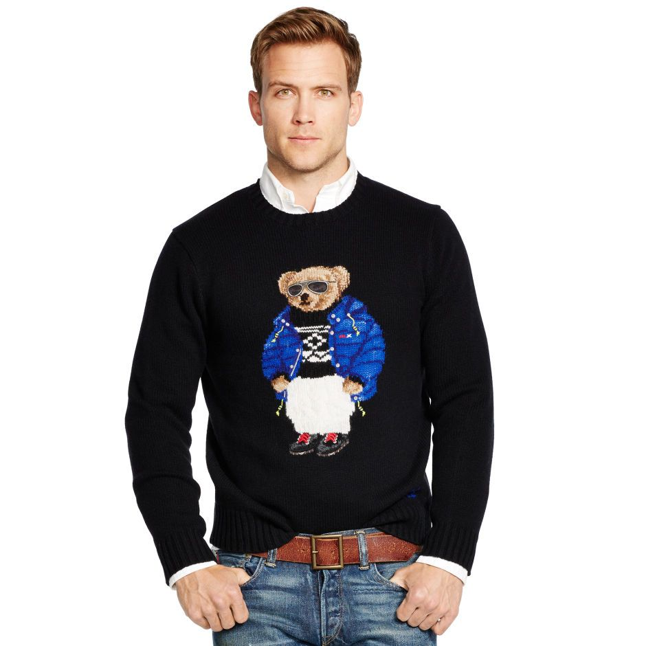 20ddf999a Ski Polo Bear Sweater - Polo Ralph Lauren Sweaters - RalphLauren.com ...