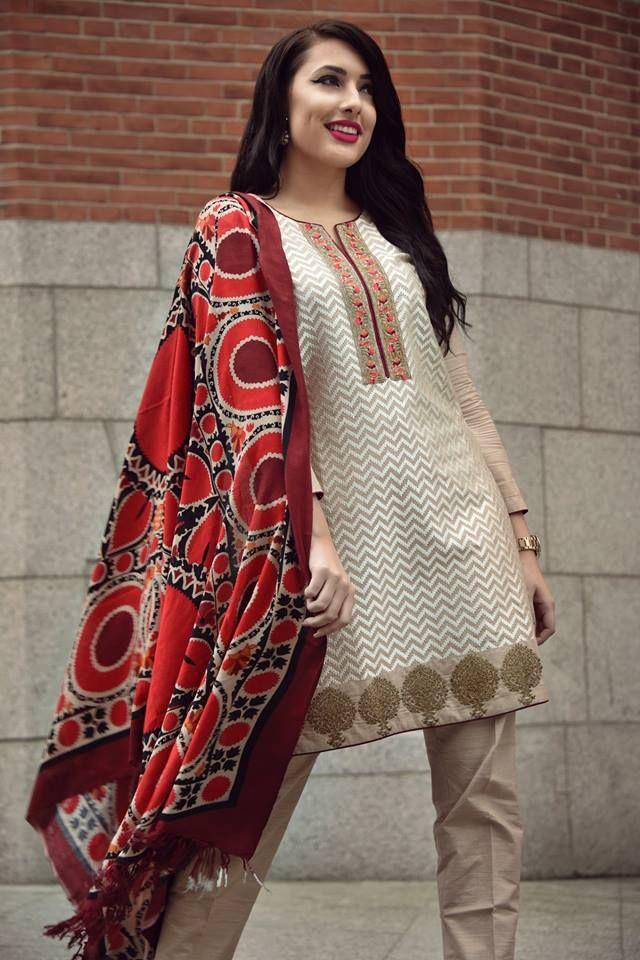 a1a662ab5857 Nimsay Ready to Wear Winter Khaddar Collection 2016
