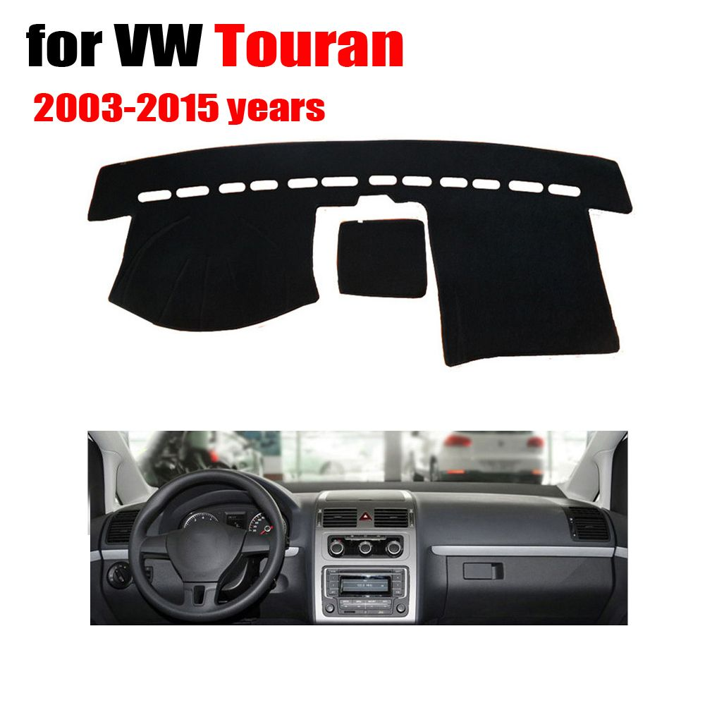 Car dashboard covers mat For VOLKSWAGEN VW touran 2003-2015 years ...